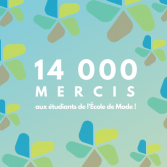 14 000 face coverings made thanks to the École de mode students!
