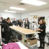 Student visits | Vestechpro showcases its equipment from its laboratory